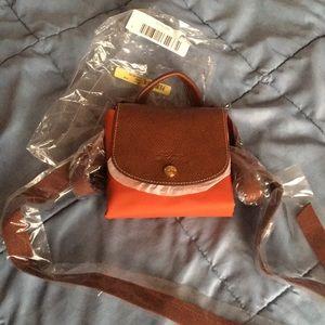 🔴Rare🔴 Brand new - Longchamp backpack in safran